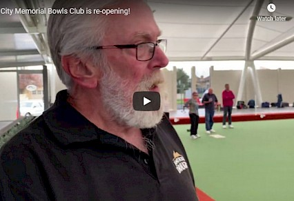 Bowls club re-opens